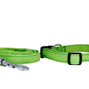 Net Collar(W*0.75″L*10-20″) and Leash(L*52″)