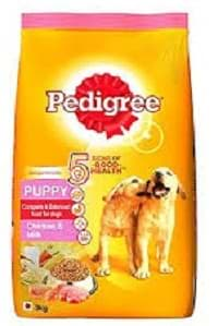 Pedigree Puppy Dry Dog Food, Chicken & Milk 3 kg
