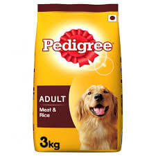Pedigree Adult Dry Dog Food, Meat & Rice