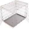 Stainless-Steel-Large-Dog-Cage-Dog-Crate