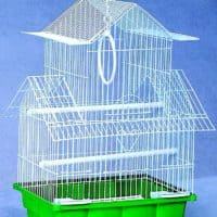 Bird Cage 201 ( L 11.81 * W 9 * H 18) Inch (Set of 10 Piece)