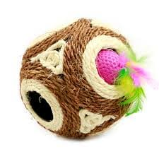 Toy Cat Ball With Hole