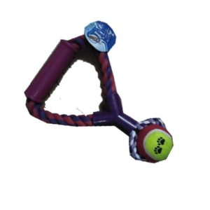 Dog toy with ball